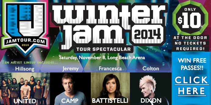 Win passes to Winter Jam!