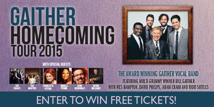 Win Gaither Homecoming Tickets!