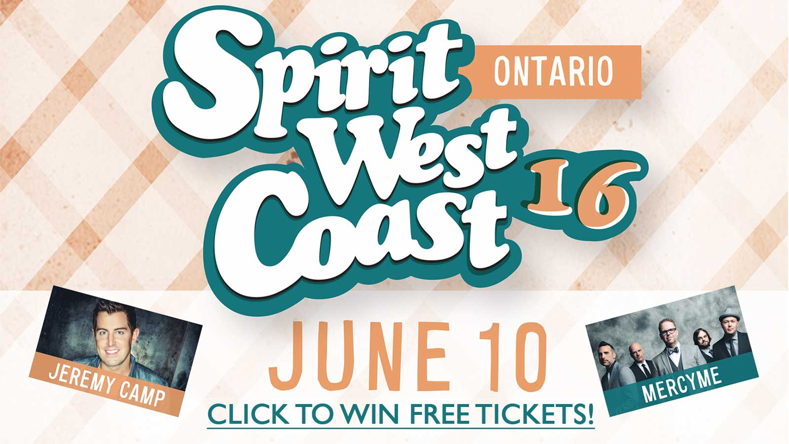 Win tix to Spirit West Coast