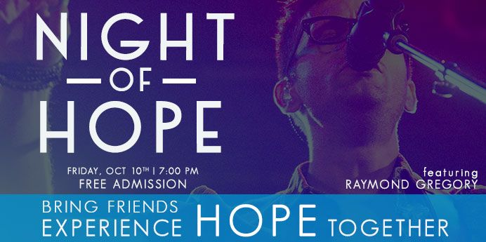 89.7 KSGN Night Of Hope, October 10 at Redlands Bowl