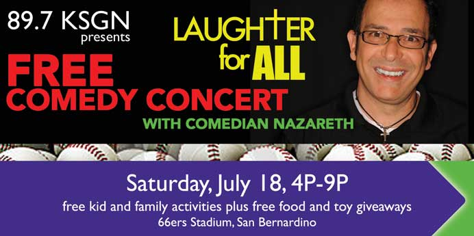 Laughter For All 2015 in San Bernardino