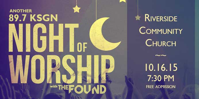 Night of Worship October 16