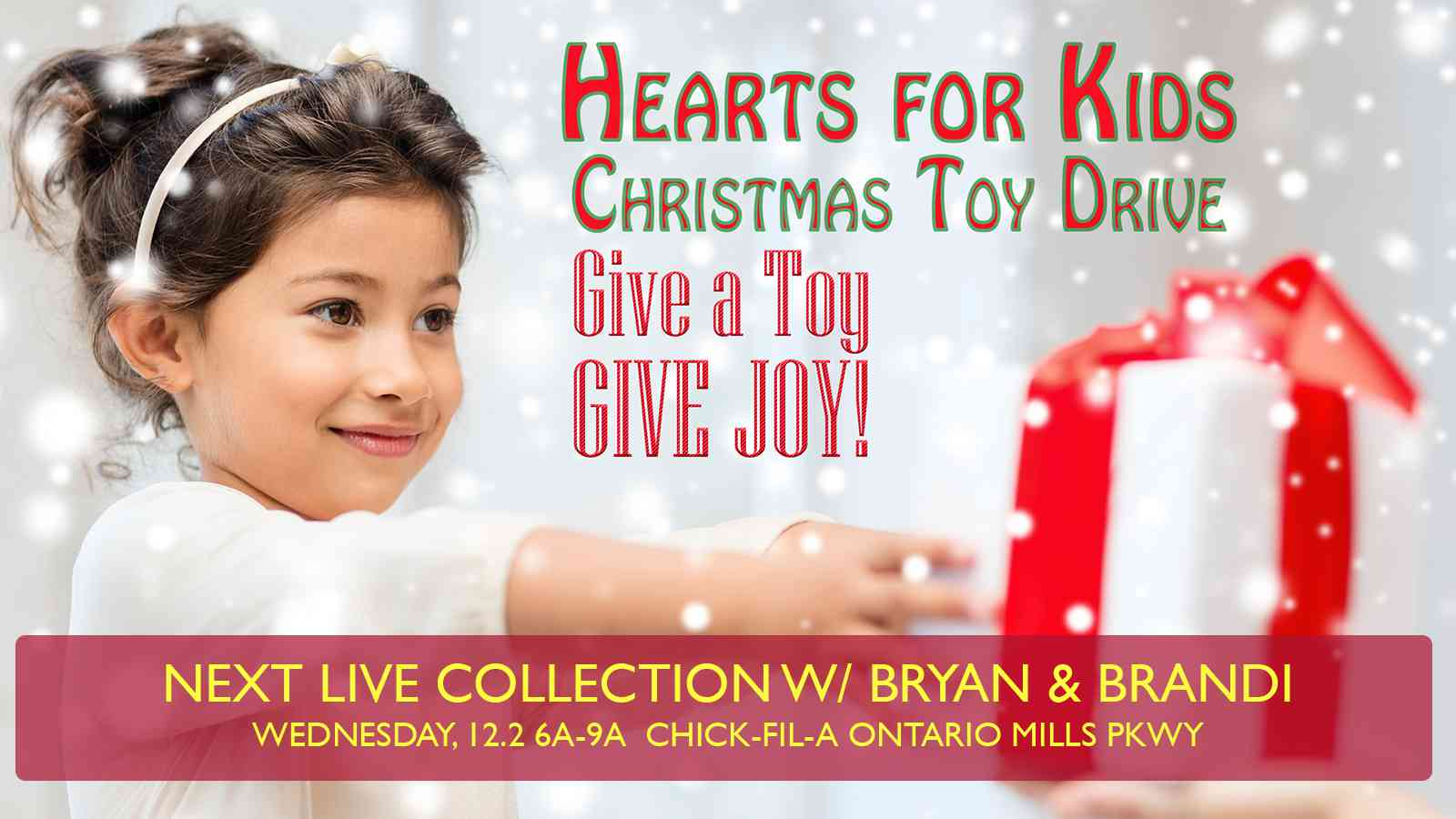 Hearts For Kids Toy Drive