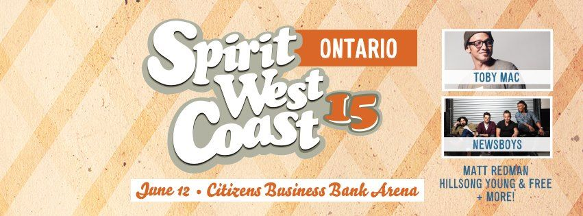 Spirit West Coast Ontario 2015